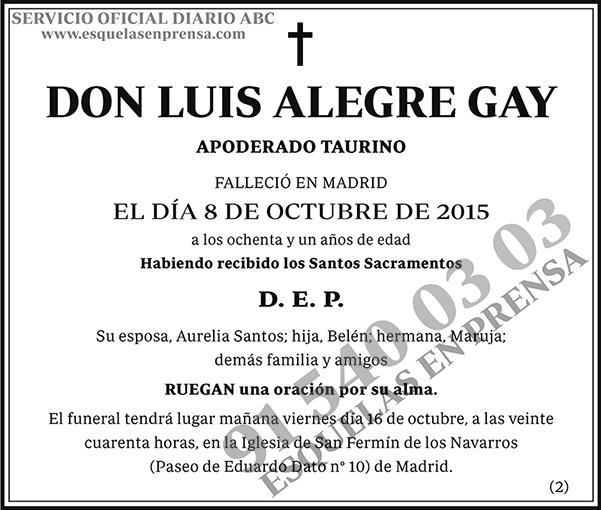 Luis Alegre Gay